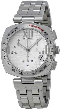 Charriol Alexandre Silver Dial Chronograph Stainless Steel Ladies Watch