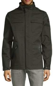 Scotch & Soda Front Snap Field Jacket