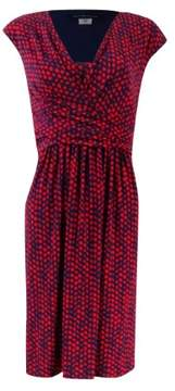 Tommy Hilfiger Women's Polka Dotted Jersey Dress