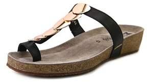 Mephisto Ileane Open Toe Leather Thong Sandal.