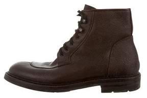 Aquatalia Round-Toe Ankle Boots