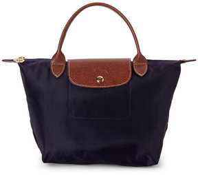 Longchamp Purple Le Pliage Small Tote - PURPLE - STYLE