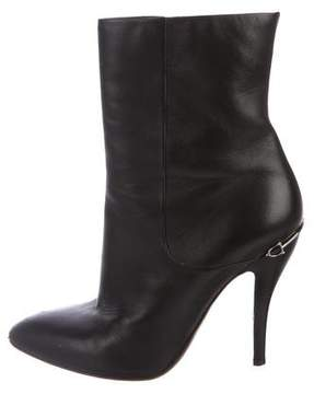 Gucci Leather Mid-Calf Boots