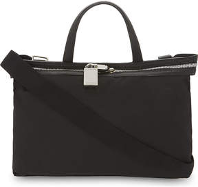 Calvin Klein Canvas and leather small tote