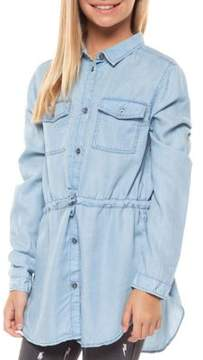 Dex Girl's Denim Tunic