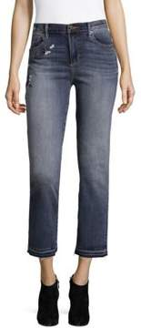 Driftwood Ameli Cropped Classic Fit Jeans