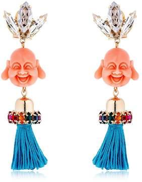 Anton Heunis Pandora's Box Happy Buddha Earrings