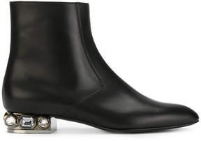 Casadei crystal-embellished Daytime boots