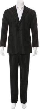 Ralph Lauren Purple Label Wool Pinstripe Two-Piece Suit