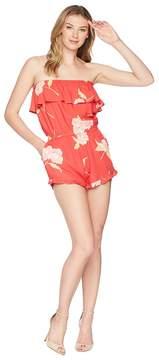 Billabong Pocket Flower Romper Women's Jumpsuit & Rompers One Piece