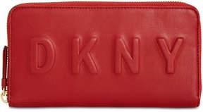 DKNY Zip Around Logo Wallet, Created for Macy's
