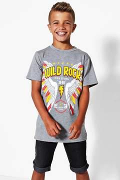 boohoo Boys Wild Rock Tee