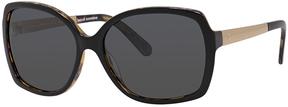 Safilo USA Kate Spade Darilynn Polarized Rectangle Sunglasses