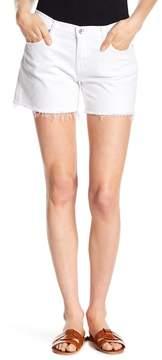 Big Star Alex Geo Print Midrise Frayed Shorts