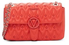 Mario Valentino Valentino By Antoinette Diamond Leather Shoulder Bag