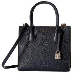 Michael Kors Bonded Mercer Admiral Blue Pebble Medium Crossbody Handbag - ONE COLOR - STYLE