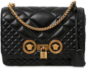 Versace Medium Quilted Icon Shoulder Bag