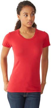 Alternative Apparel Destroyed Womens T-Shirt