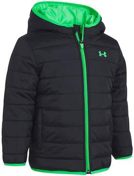 Under Armour Toddler Boy Puffer Black Heavyweight Jacket