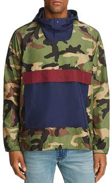 Herschel Camouflage Color-Block Anorak Jacket