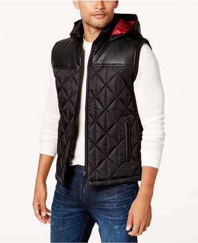 GUESS Men's Spence Quilted Vest