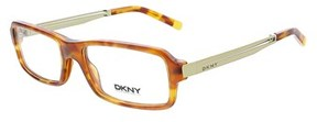 DKNY Dy 4619 3346 Blonde Havana Plastic Womens Optical Frame.