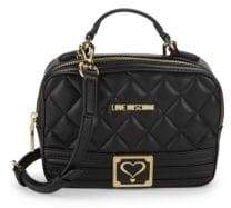 Love Moschino Quilted Mini Crossbody Bag