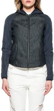 Colmar Blue Denim Hooded Jacket
