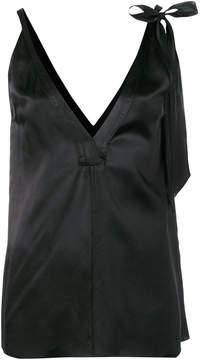 Forte Forte sleeveless satin blouse