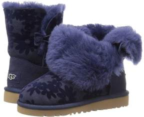 UGG Bailey Button Flowers Girl's Shoes