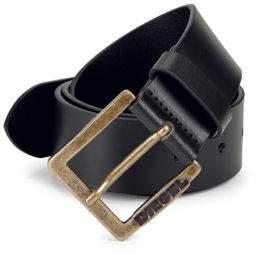 Diesel Logo Leather Belt