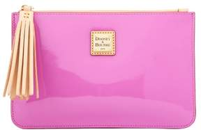 Dooney & Bourke Patent Carrington Pouch - ORCHID - STYLE