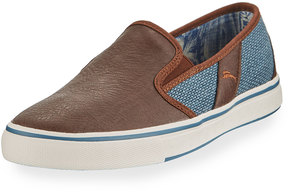 Tommy Bahama Pacific Crest Combo Slip-On Sneaker, Blue