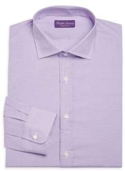 Ralph Lauren Purple Label Micro Checked Shirt