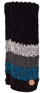 Barts Black and Blue Stripes Scarf
