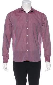 Billy Reid Gingham Woven Shirt
