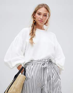 Free People Sleeves Like This jumper