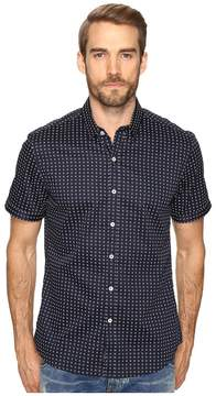7 Diamonds Midnight City Short Sleeve Shirt Men's Short Sleeve Button Up