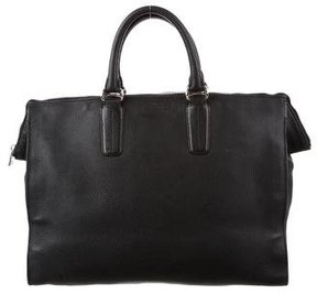 Bally Textured Leather Briefcase