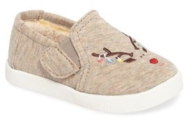 Toms Infant Girl's Avalon Embroidered Slip-On