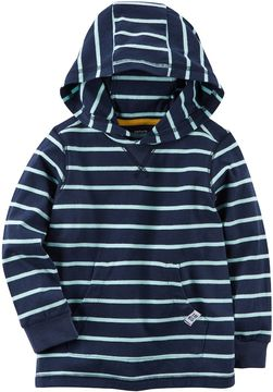 Carter's Toddler Boy Striped Pullover Hoodie