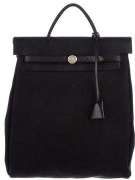 Hermes Toile Herbag Backpack - BLUE - STYLE