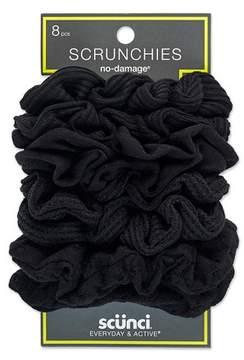 Scunci Everyday & Active No Damage Large Interlock Twister Scrunchies - 8pk