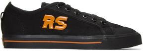 Raf Simons Black adidas Originals Edition Spirit Low Sneakers