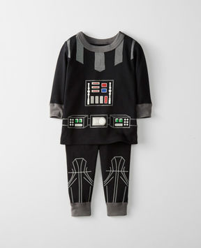 Hanna Andersson Star WarsTM Glow In The Dark Long John Pajamas In Organic Cotton