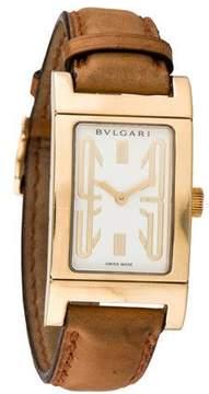Bvlgari 18K Rettangolo Watch