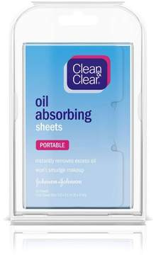 Clean & Clear® Oil Absorbing Sheets For Oily Skin - 50ct