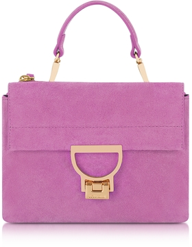 Coccinelle Suede Arlettis Mini Bag w/Shoulder Strap