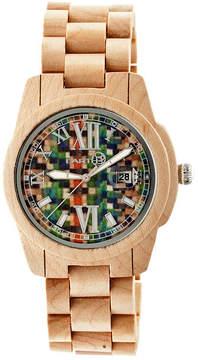 Earth Wood Khaki Bracelet Watch