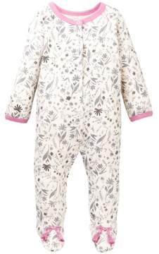 Jessica Simpson Floral Footie (Baby Girls)